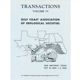 GCAGS006. GCAGS Volume 6 (1956) San Antonio