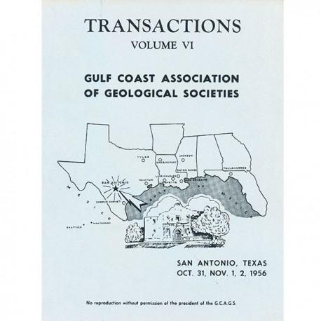 GCAGS006. GCAGS Volume 6 (1956) San Antonio