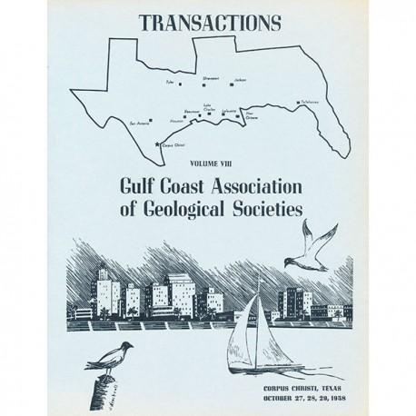 GCAGS008. GCAGS Volume 8 (1958) Corpus Christi