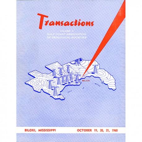 GCAGS010. GCAGS Volume 10 (1960) Biloxi