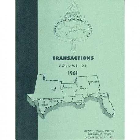 GCAGS011. GCAGS Volume 11 (1961) San Antonio