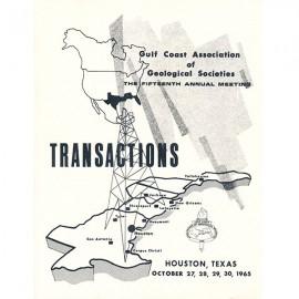 GCAGS015. GCAGS Volume 15 (1965) Houston
