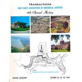 GCAGS018. GCAGS Volume 18 (1968) Jackson