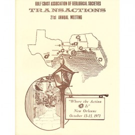 GCAGS021. GCAGS Volume 21 (1971) New Orleans