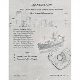 GCAGS023. GCAGS Volume 23 (1973) Houston