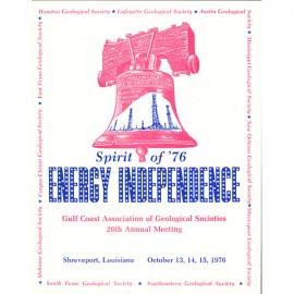 GCAGS026. GCAGS Volume 26 (1976) Shreveport