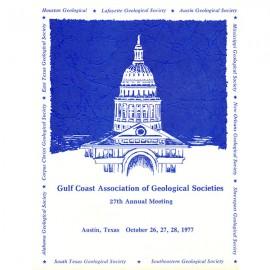 GCAGS027. GCAGS Volume 27 (1977) Austin
