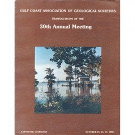 GCAGS030. GCAGS Volume 30 (1980) Lafayette