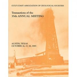 GCAGS035. GCAGS Volume 35 (1985) Austin