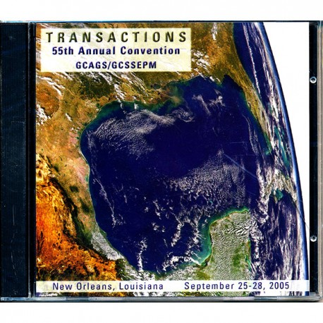 GCAGS055CD. GCAGS Volume 55 (2005) New Orleans CD ROM