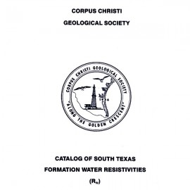 CCGS 017 RW. Catalog of South Texas Formation Water Resistivities (RW)
