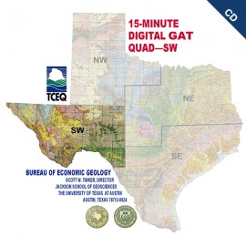 DQSE -D. Digital Quadrangle, SE Texas.  Downloadable.