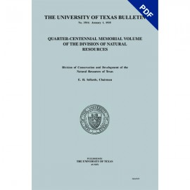 BL3501. Quarter-Centennial Memorial Volume of the Division of Natural Resources