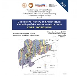 SW0024D. Depositional History and Architectural Variability of the Wilcox Group in Texas: Core Workshop - Downloadable PDF