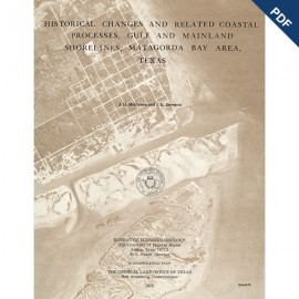 SR0003D. Historical Changes and...Processes, Gulf and Mainland Shorelines, Matagorda Bay Area, Texas - Downloadable PDF