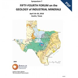 SP0007D. Fifty-Fourth Forum on the Geology of Industrial Minerals - Downloadable PDF