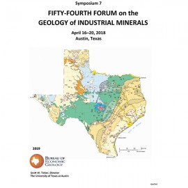 SP0007. Fifty-Fourth Forum on the Geology of Industrial Minerals