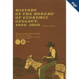 SR0009D. History of the Bureau of Economic Geology, 1909-1960 -Downloadable PDF