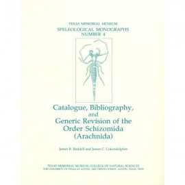 TMMSM004. Catalogue, bibliography, and generic revision of the order Schizomida (Arachnida)