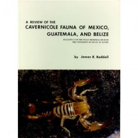 TMMBL027. A review of the cavernicole fauna of Mexico, Guatemala, and Belize