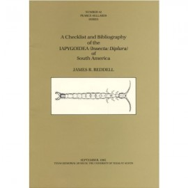 TMMPSS042. A checklist and bibliography of the Japygoidea (Insecta: Diplura) of South America