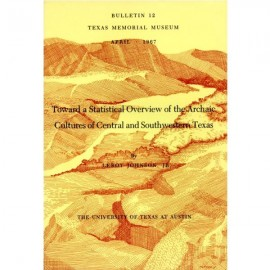 TMMBL012. Toward a statistical overview of the archaic cultures of central and southwestern Texas