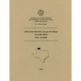 Bouguer Gravity Atlas of Texas