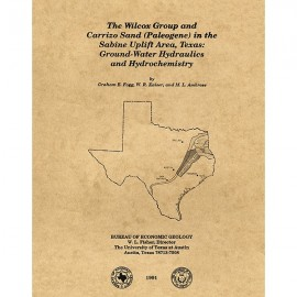 Geological/Hydrological Folios, Wilcox Group, East Texas