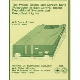 Geological/Hydrological Folios, Wilcox Group, East Texas